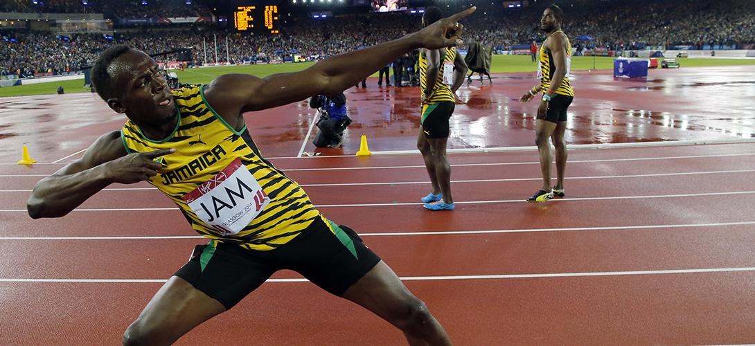 Джастин Гэтлин обошел Болта на 100 м, оба вышли в полуфинал ЧМ в Пекине +Видео