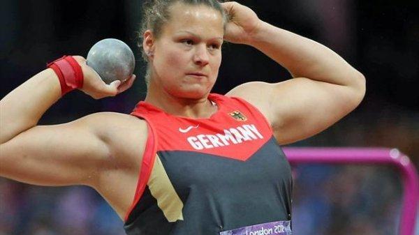 Кристина Шваниц выиграла на ЧМ в Пекине по толканию ядра  +Видео