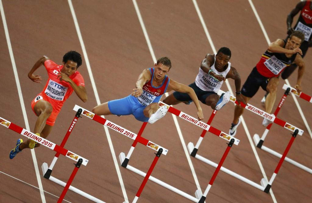 Денис Кудрявцев вышел в финал в барьерном беге на 400 м на пекинском чемпионате мира с первым результатом