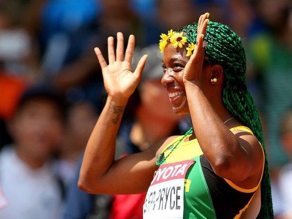 Шелли-Энн Фрейзер-Прайс стала первой женщиной, победившей на стометровке на трех чемпионатах мира