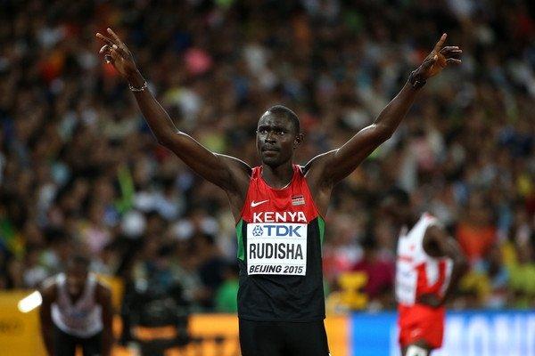 Дэвид  Рудиша выиграл золото ЧМ в Пекине в беге на 800 м+Видео