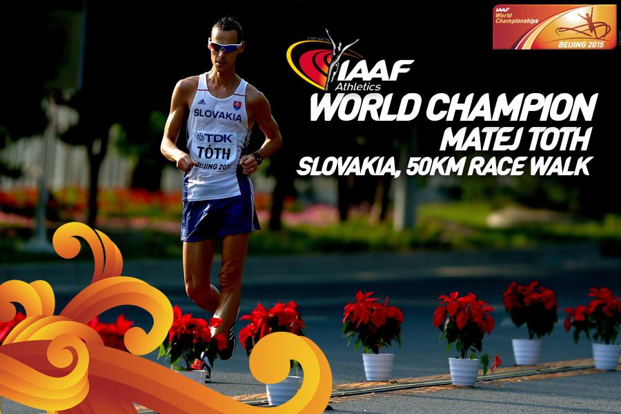 Словак принес своей сборной первую медаль в спортивной ходьбе на дистанции 50 км. ЧМ +Видео
