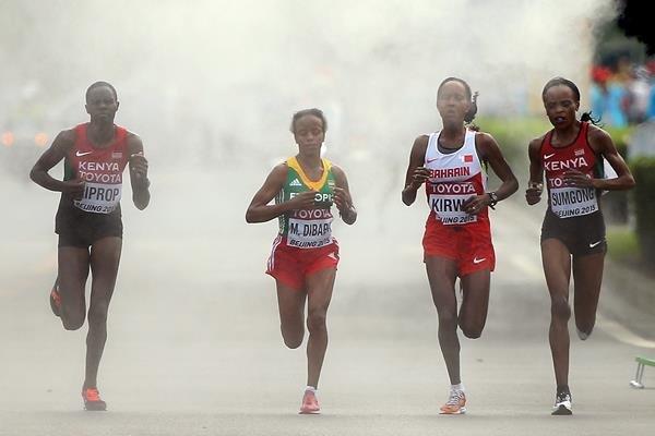 Маре Дибаба стала новым чемпионом мира в женском марафоне +Видео