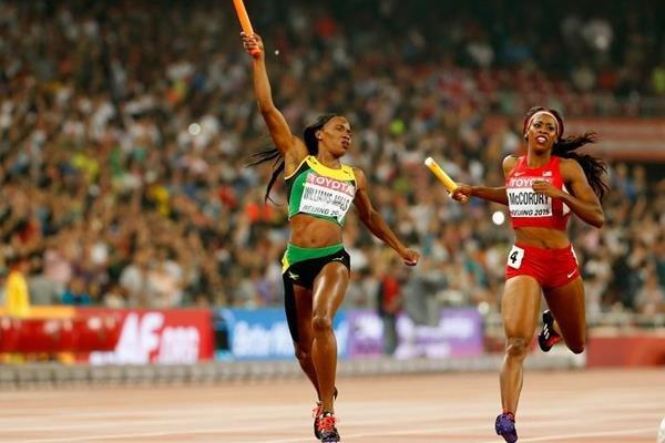 Россиянки — четвёртые в эстафете 4х400 м на ЧМ в Пекине +Видео