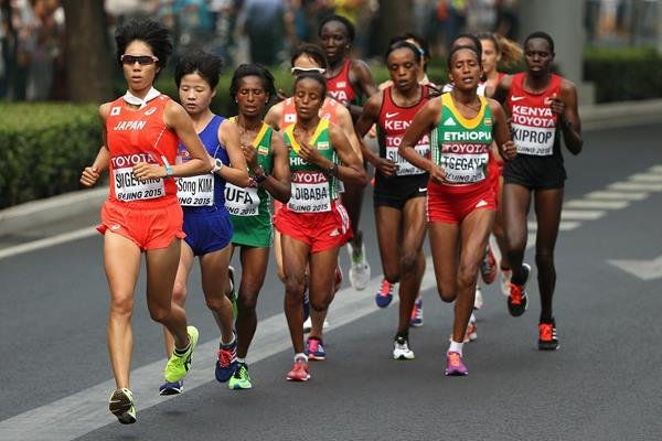 Athletics World Championships Marathon Women's