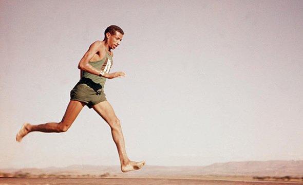 Как босиком выиграть олимпийский марафон