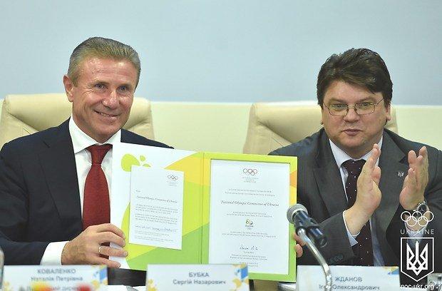 Украина официально подтвердила участие в Олимпиаде-2016 в Рио-де-Жанейро