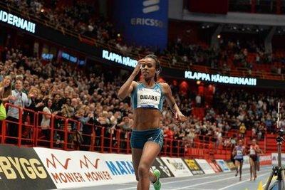 Гензебе Дибаба из Эфиопии планирует выступить в двух видах программы на зимнем чемпионате мира