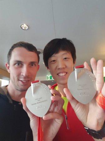 Китаец вернул Богдану Бондаренко медаль