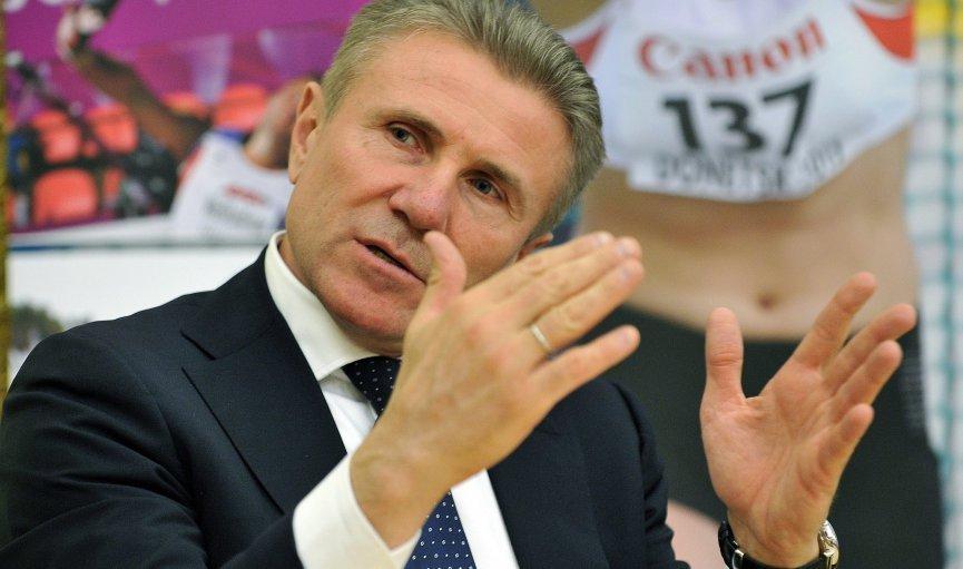 Сергей Бубка: «Не могу сказать, получится ли у Исинбаевой показать высокий результат на Олимпиаде, все зависит от нее»