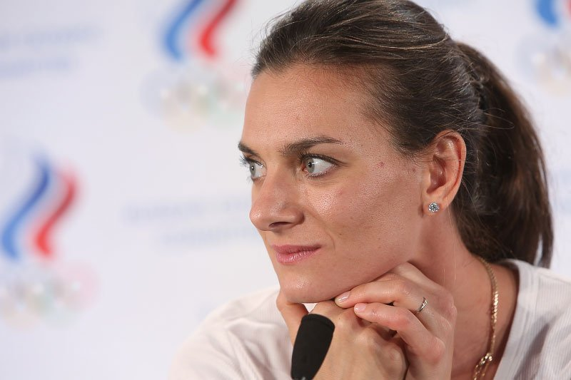 Елена Исинбаева стала кандидатом на членство в комиссии спортсменов МОК