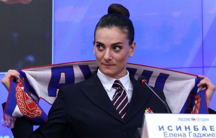 Елена Исинбаева подтвердила, что завершит спортивную карьеру после Олимпиады-2016