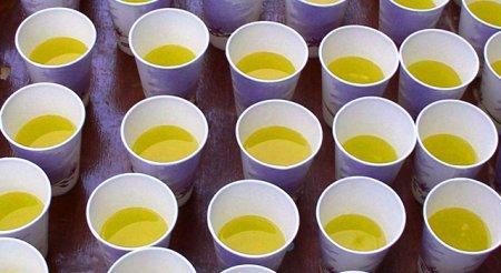 Что и как пить во время забега?