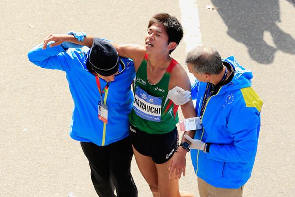 Главной сенсацией Нью-Йоркского марафона стал японец-любитель
