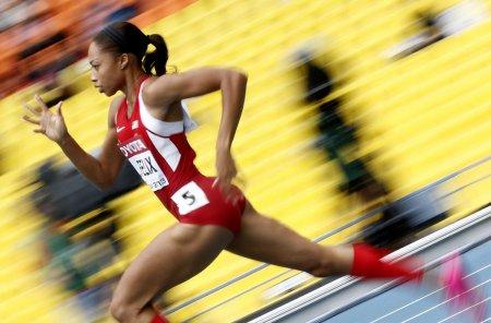 Эллисон Феликс одна из самых титулованных легкоатлеток