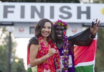 Феликс Кипротич и Джойс Чепкируи победители марафона в Гонолулу