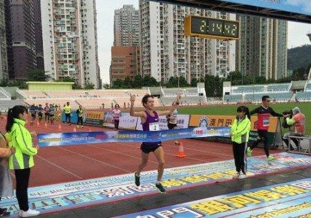 Виталий Шафар и Елена Шурхно стали победителями марафона в Китае