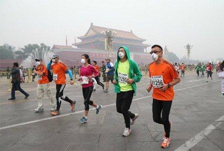 Очередная смерть во время марафона в Китае