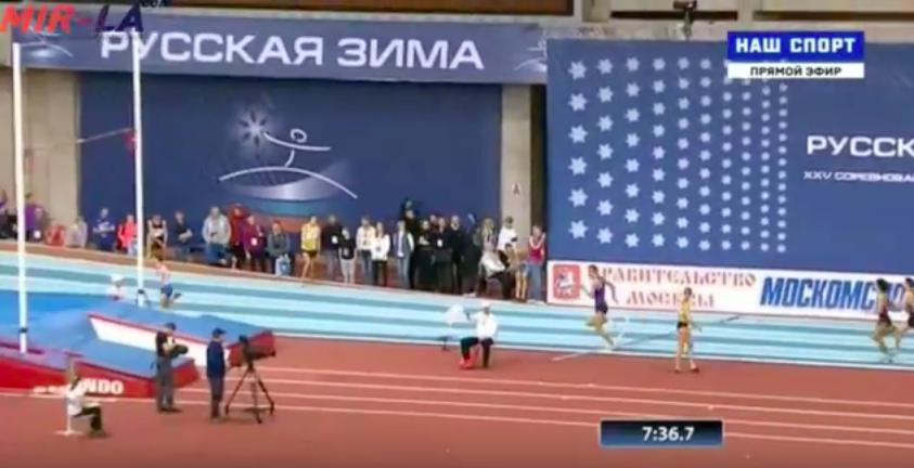 3000м Мужчины Финал Русская зима 2016 +Видео