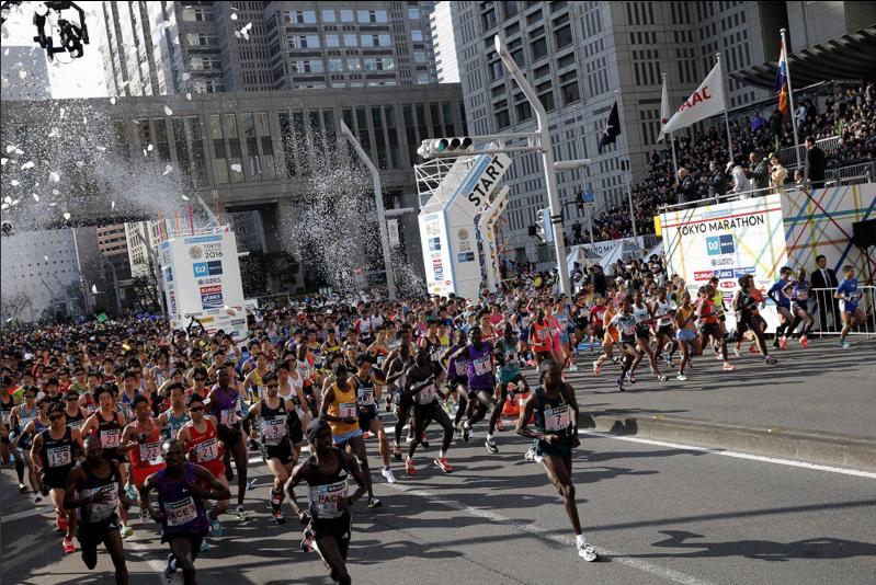 Результаты марафона в Токио