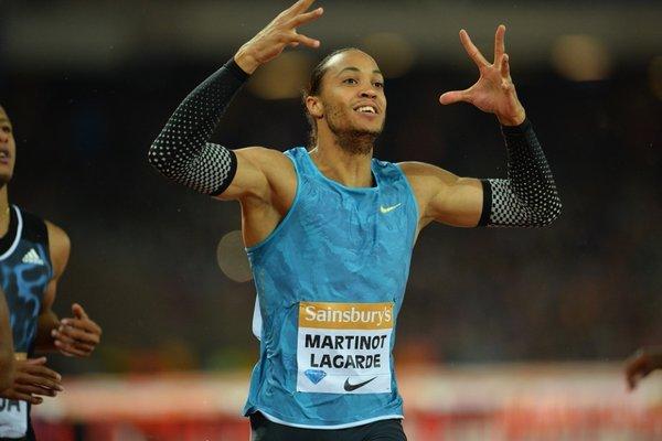 Паскаль Мартино-Лагард проскакал 60м с барьерами за 7.47 +Видео