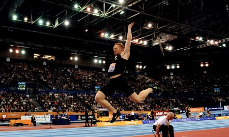 Грег Разерфорд установил национальный рекорд в помещении