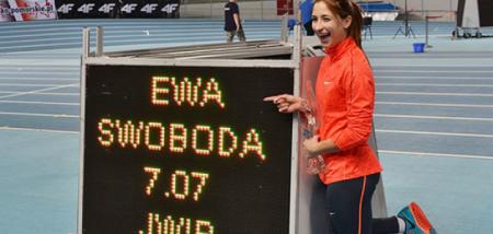Ева Свобода установила мировой рекорд среди юниоров в беге на 60 м в помещении. Видео