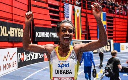 Гензебе Дибаба через 48 часов после мирового рекорда на миле показала 2-й в истории результат на 3000м!