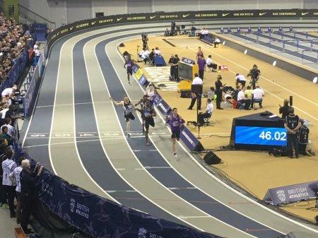 Pavel Maslak 46.02 400m Mens Final Glasgow 2016