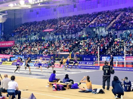 Sean Safo Antwi 6.56 Wins Men's 60m Final Glasgow