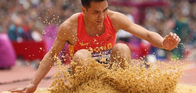 Дун Бинь установил рекорд Азии в тройном прыжке