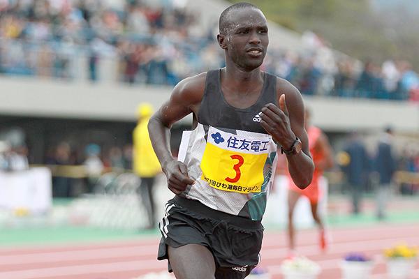 Лукас Ротич - победитель Lake Biwa Marathon
