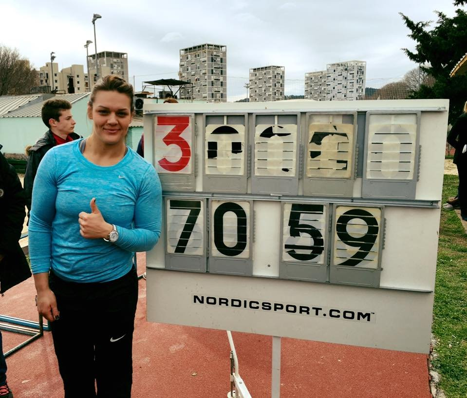 Сандра Перкович продемонстрировала великолепную готовность