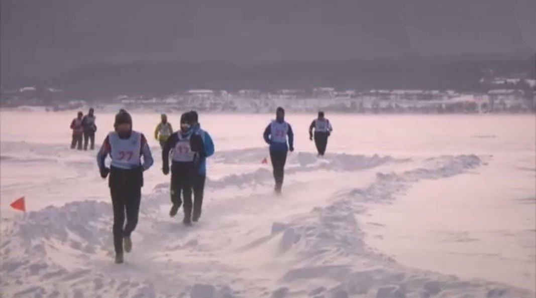 Экстремальный марафон на Байкале +Видео