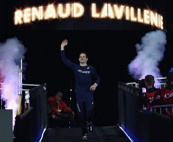 Рено Лавиллени чемпион мира в помещении +Видео