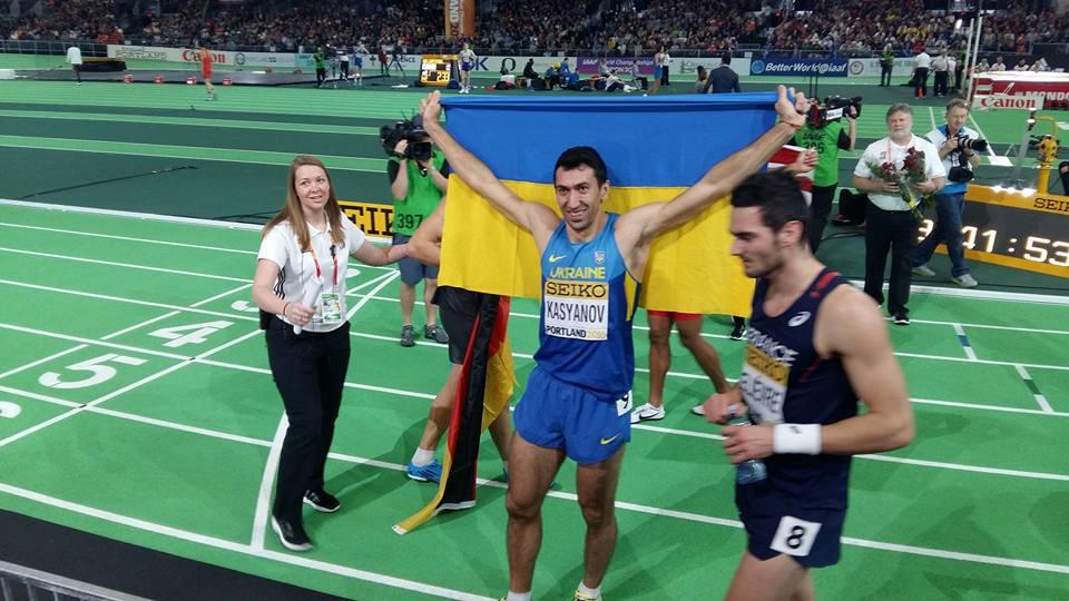 Алексей Касьянов – серебряный призер чемпионата мира в Портленде