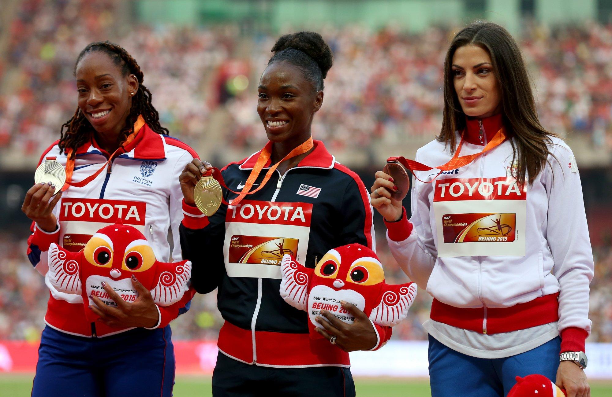 Золотые медалистки чемпионатов мира сойдутся в Юджине