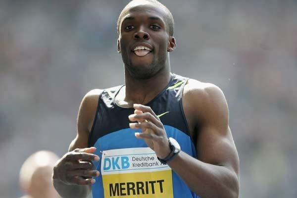 Лучший результат сезона на 200 метров от Лашона Мерритта