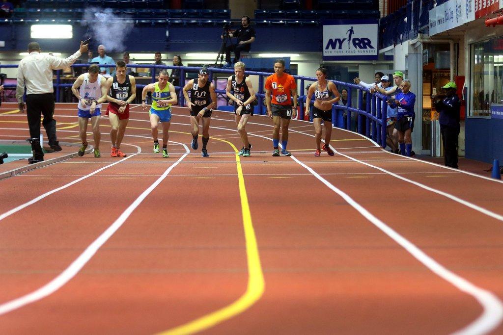 Мировые рекорды в марафоне в закрытых помещениях