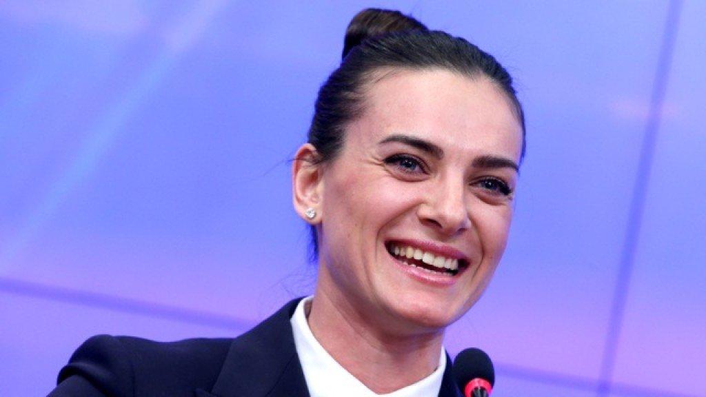 Елена Исинбаева стала председателем комиссии спортсменов ВФЛА