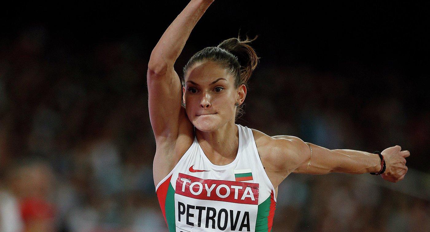 IAAF отменила временное отстранение легкоатлетки Габриэлы Петровой, наказанной за мельдоний