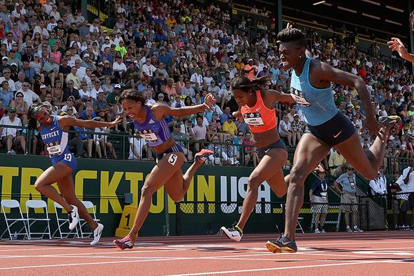 В первые в истории этапа Бриллиантовой лиги в Юджине состоятся соревнования по женскому барьерному спринту