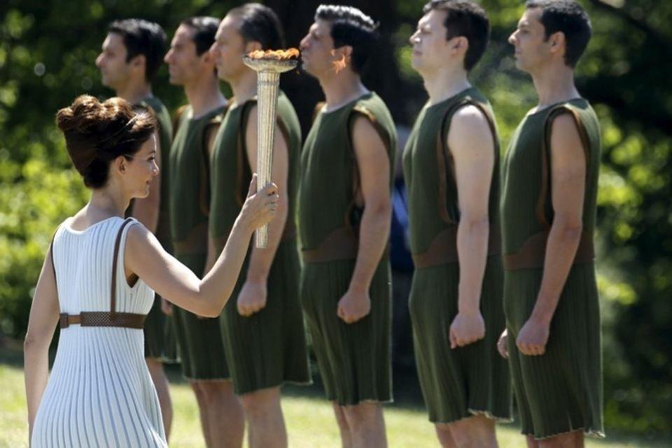 Олимпийский факел понесет сирийский беженец