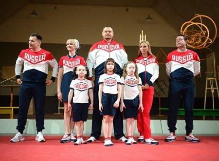 Представлена  форма сборной России на Олимпийски игры - 2016