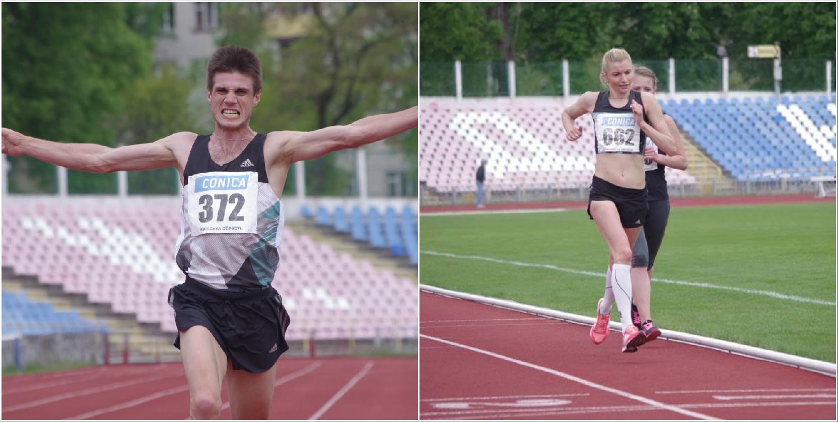 Дмитрий Лашин и Ольга Котовская – лучшие легкоатлеты Украины в апреле