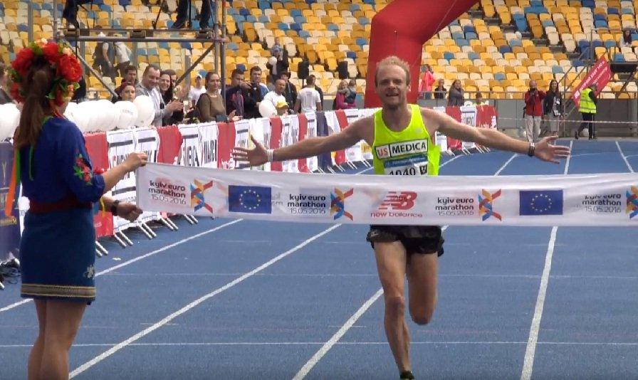 Иван Бабарыка и Людмила Шелест выиграли первый в истории Евромарафон