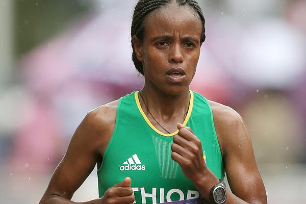 Эфиопский состав олимпийской команды в марафоне