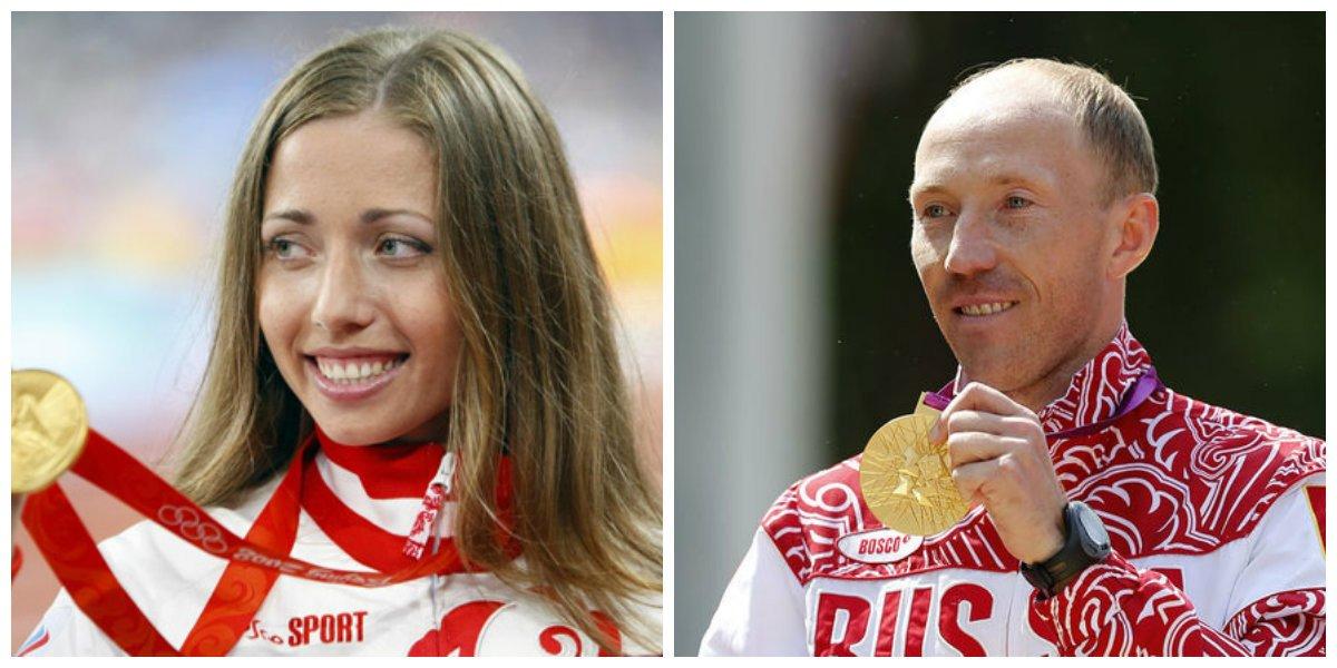 Сергей Кирдяпкин и Ольга Каниськина сдали медали ОИ-2012