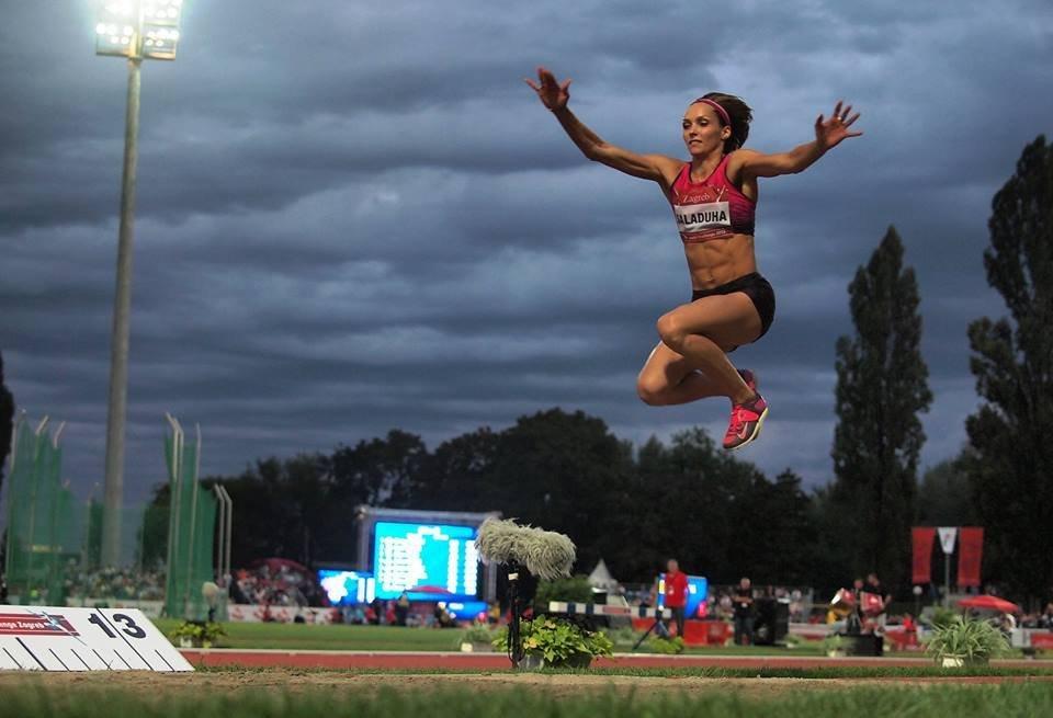 Ольга Саладуха улучшила личный рекорд сезона в Бирмингеме