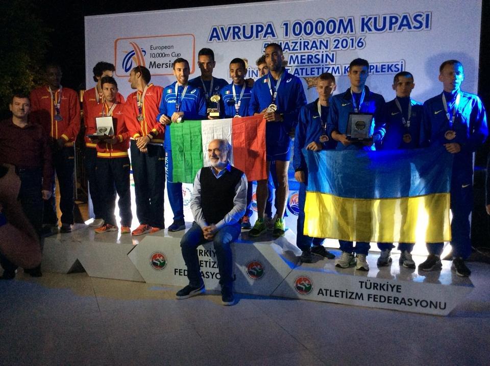 Украинцы выиграли «бронзу» Кубка Европы-2016 по бегу на 10000 метров